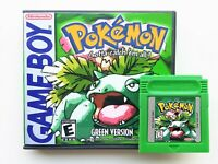 Pokemon Green Version English Translated Game Gameboy (GBC / GBA) USA Seller