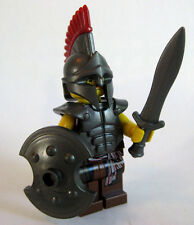Lego TROJAN WARRIOR Minifigure with Custom Armor Set - Ancient Greece Troy