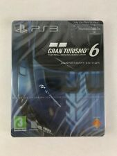 Ps3 Gran Turismo 6 Anniversary Edition, Steel Book, BRAND NEW & FACTORY SEALED