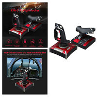 PXN-2119II Flight Stick Simulator Gaming Joystick USB Controller Set for PC