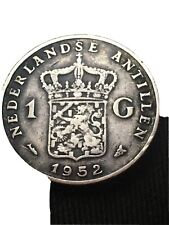 1952 1G Netherlands Silver Coin