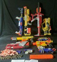 Nerf Dart Gun HUGE LOT, Alpha Trooper, Barricade, Raider, Titan, Recon, Hornet
