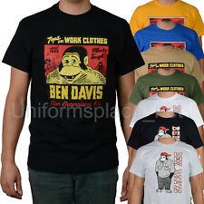 Ben Davis T shirt Mens Short Sleeve Logo Classic Tee T- Shirts Cotton Top Colors