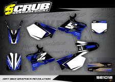 Yamaha graphics YZ 125 - 250  '02 '03 '04 '05 2002 - 2005 SCRUB decals