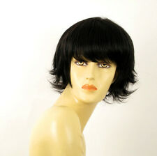 wig for women 100% natural hair black ref DIANA 1B PERUK
