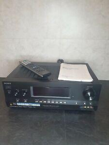 Sony STR - DH800 7 Channel Amplifier / AV Receiver  Cinema System Manual  Remote