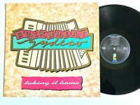 BUCKWHEAT ZYDECO Taking It Home 1988 Vinyl LP Island Records 90968-1 VG+/VG