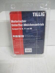Tillig N,TT,H0 86112 Motorischer Unterflur-Weichenantrieb m.OVP WZ4060