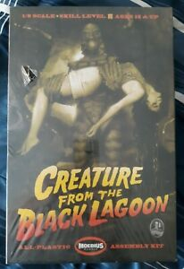 CREATURE FROM THE BLACK LAGOON MODEL WITH JULIA ADAMS FIGURE MOEBIUS NEW SEALED