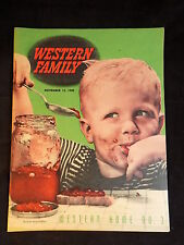 Vintage Western Family November 15, 1945 Magazine Western Home No. 3 advertising