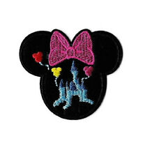 Minnie Mouse - Disneyland - World - Castle - Embroidered Iron On Applique Patch