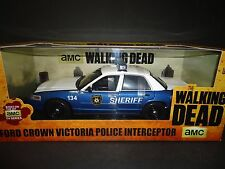 Greenlight Ford Crown Victoria Interceptor The Walking Dead 1/18