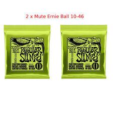 2 x  Ernie Ball 2221 Regular Slinky Chitarra Elettrica SPEDIZIONE TRACCIABILE