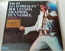 ELVIS PRESLEY FROM ELVIS PRESLEY BOULEVARD - MISPRESS BLUE COLOURED Vinyl