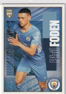Panini Fifa 365 2022 Sticker No. 76 Phil Foden – rising Star