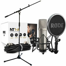 Rode NT1-A Set Capacitor Microphone + Keepdrum Microphone Stand