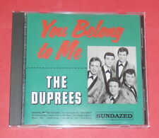 The Duprees - You belong to me -- CD / Oldies