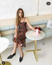 C/MEO Cameo Collective Outline Floral Midi Dress Size 8 BNWT