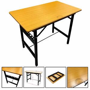 Heavy Duty Folding Workbench Table Portable Wooden Work Bench Worktop DIY