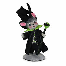 Annalee Dolls 2021 Halloween 6in Ghostly Warlock Mouse Plush New with Tag