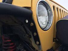 AMBER LED Turn Signal indicators Jeep Wrangler Flat Fenders  marker lights