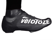 VeloToze Shoe Cover Waterproof Overshoes Short Standard or MTB Black or Yellow