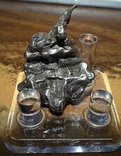 New listing Large 22 Gm Campo Del Cielo Meteorite Crystal ! Great Piece W/ Stand