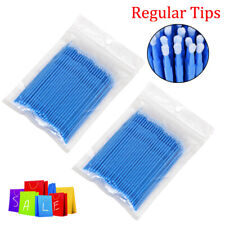 200 Pcs Dental Micro Brush Disposable Materials Tooth Applicators Regular 25mm