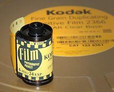 35mm Film - Eastman Fine Grain 2366 BW - (1 - 24 exp Roll)