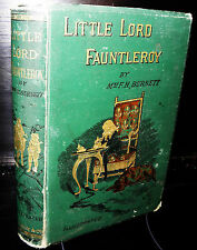 Little Lord Fauntleroy by Mrs F. H. Burnett, Illustrated. 1889