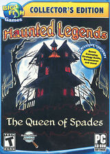 "Haunted Legends: The Queen of Spades (PC, 2011) Big Fish Games, Rated ""T"""