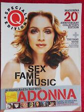 Q Magazine SPECIAL EDITION MADONNA  No cd