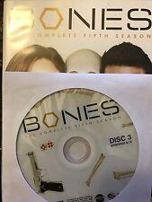 Bones - Season 5, Disc 3 REPLACEMENT DISC (not full season)