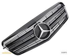 Grill Sport Kühlergrill für Mercedes W212 S212 E BIS 2013 Glanz Schwarz AMG OPTI