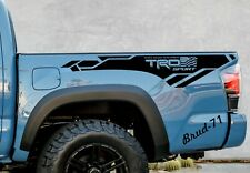 Toyota Tacoma TRD SPORT 2016-2020 Side Bed Vinyl Decals Stickers Graphics Stripe