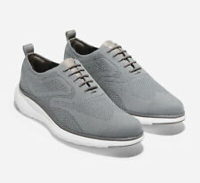 🔥$230 COLE HAAN 3.Zerogrand 10.5 Zero Grand Stitchlite Wingtip Oxford Grey