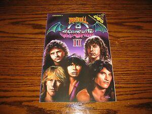 AEROSMITH - Rock N Roll Comic Book!!