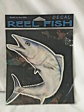 Reel Fish Decals Fish Bait Spinning Ranger Boat UV Protected Inks Vinyl