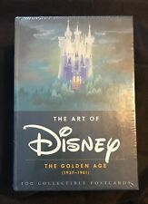 NEW Art of Disney : The Golden Age, (1937-1961) (2014, Postcard Book or Pack)