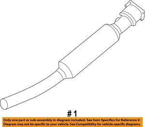 CHRYSLER OEM-Catalytic Converter 5105126AD