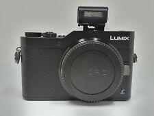 Panasonic Lumix GX800 16.0MP Camera - Black (BODY ONLY) **87 shots** BOXED