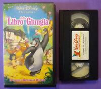 VHS Film Ita Animazione Walt Disney IL LIBRO DELLA GIUNGLA VS 4417 no dvd (V1)4°