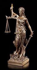 Justitia Figur mit Waage und Schwert - Veronese Statue Geschenk Anwalt Recht