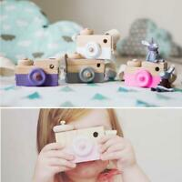 Learning Study Toy Wood Camera Educational Toys for Kids Children Baby Decor AE