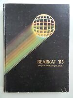 1983 Klein High School Spring Texas Original YEARBOOK Annual Bearkat