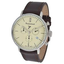 Messerschmitt Bauhaus Uomo Cronografo MODEL me4h152lb Ronda 5030 movimento dell'orologio 5atm