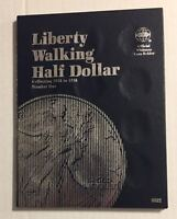 LIBERTY WALKING HALF (1916-1936) #9021 COIN FOLDER BY WHITMAN-NEW OLD STOCK