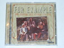 FOR EXAMPLE - SWF Session 1973 / Cancelled 1972 / LongHair Germany /  CD (New)