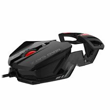 Mad Catz RAT1 Wired Optical Gaming Mouse - Black