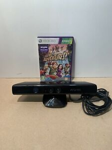 XBOX 360 KINECT WITH Kinect Adventures GAME